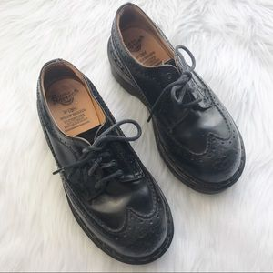 Vintages 1990s Doc Marten platform oxfords